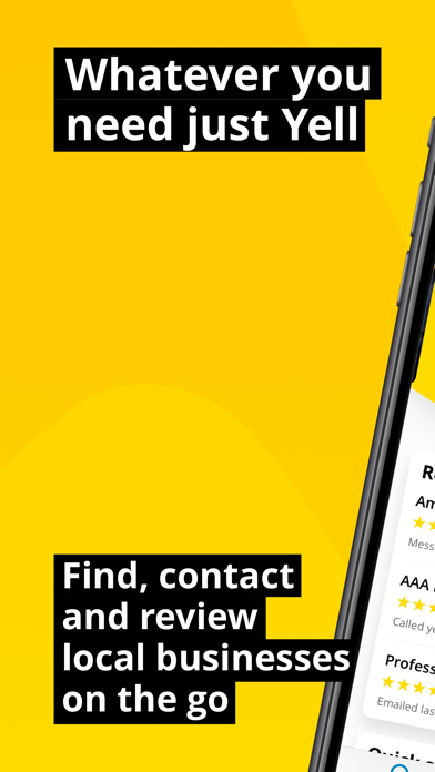 Yell – Find Local Businesses screenshot one