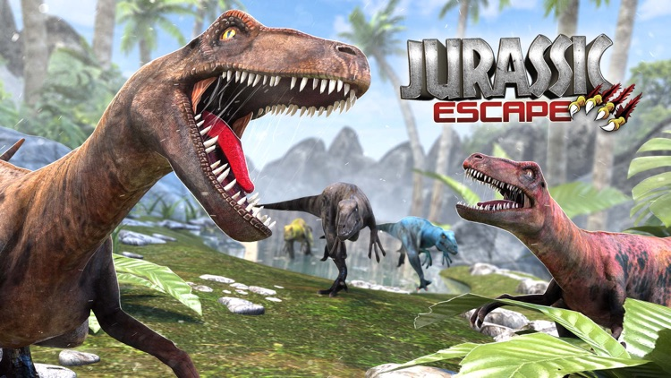 Jurassic Escape: Dino Sim 2020 screenshot-0