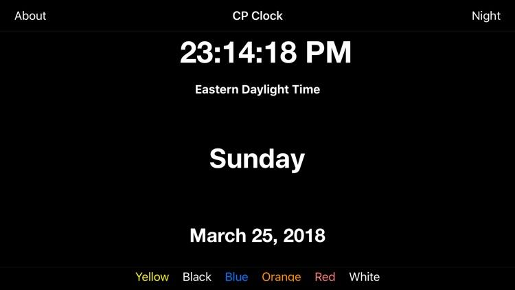 CP Clock
