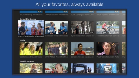 Screenshot #13 for TriathlonLive - Triathlon TV