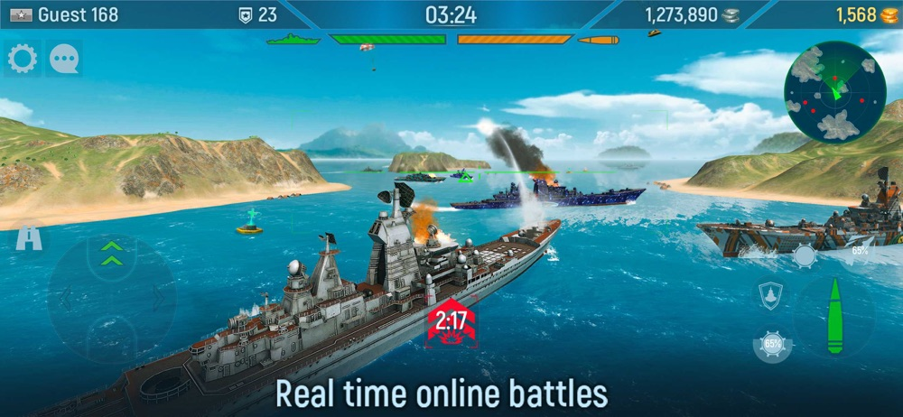 Naval Armada: Sea Battle Game Cheat Codes