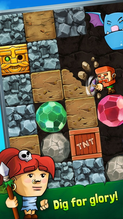 Dig Out!: Gold Miner Adventure screenshot 1