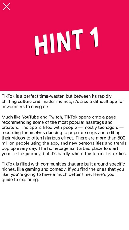 Quiz Fans For Tik Tok by Fatiha Mansouri