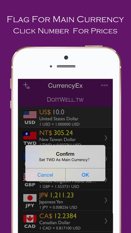 CurrencyEx Convert screenshot-4