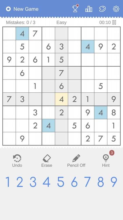 Sudoku - Classic Sudoku screenshot-5