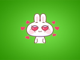 Lovely Rabbit Gif Stickers