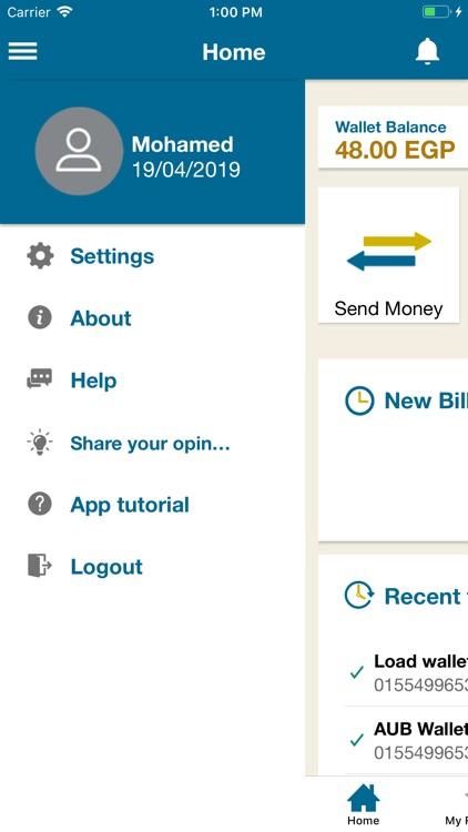 AUBE Mobile Wallet-e-Pocket screenshot-4