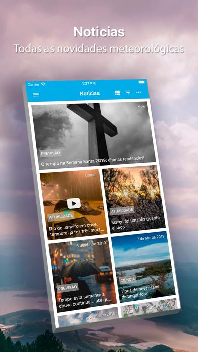 Screenshot for O Tempo para 14 dias in Portugal App Store