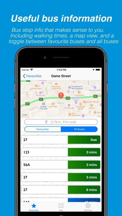 Busasaurus - Dublin bus app screenshot-4