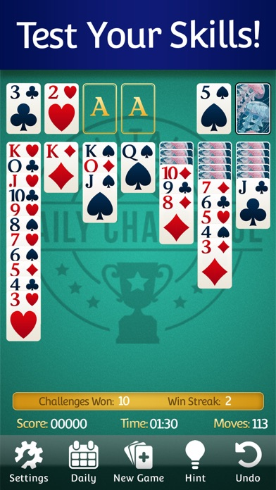 Solitaire  ‏‏‎‎‎‎ ‏‏‎‎‎‎ screenshot 7