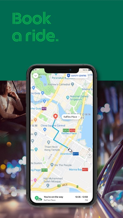 Grab (GrabTaxi) screenshot
