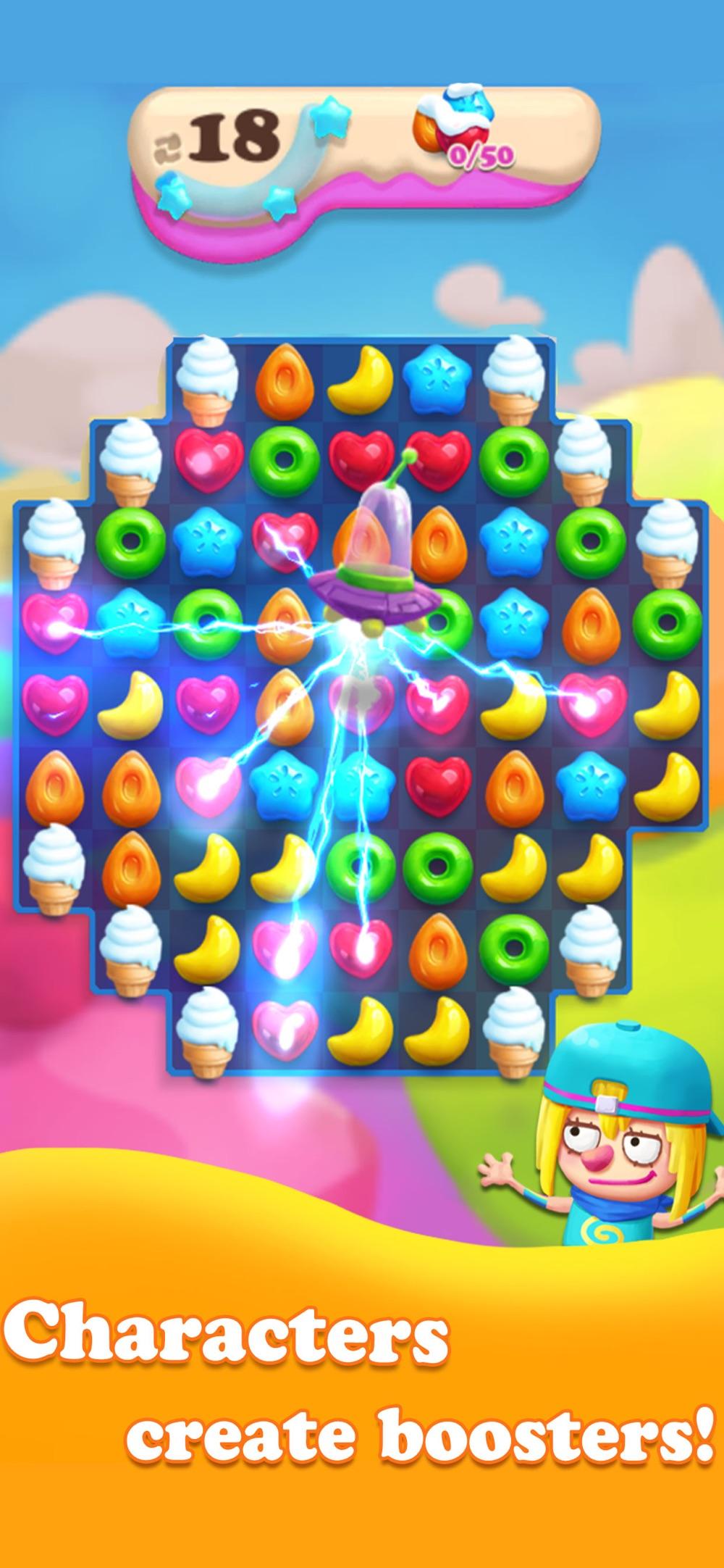 Crazy Candy Lands