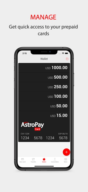 AstroPay Card on the App Store