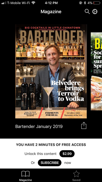 Screenshot for Australian Bartender in Romania App Store