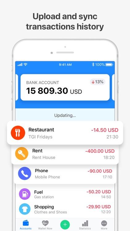 Wallet - Daily Budget & Profit screenshot-3