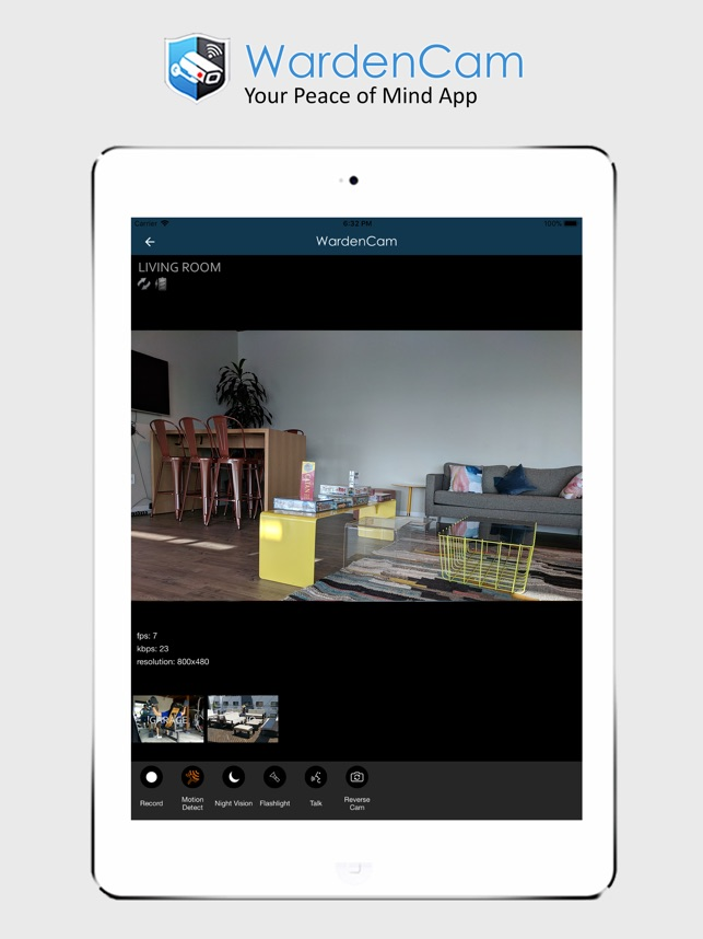 WardenCam Video Surveillance on the App Store