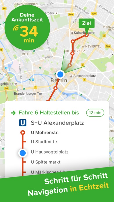 Screenshot for Citymapper - Dein Stadt-Navi in Germany App Store