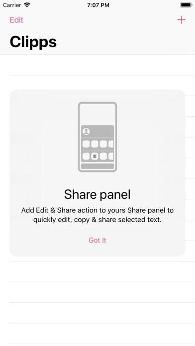Clippy - copy, edit & share screenshot 3