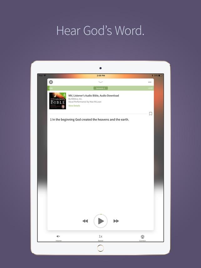 NIV Bible App + on the App Store