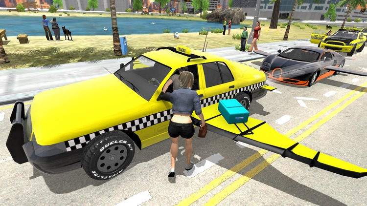 Flying Car Transport Simulator screenshot-5