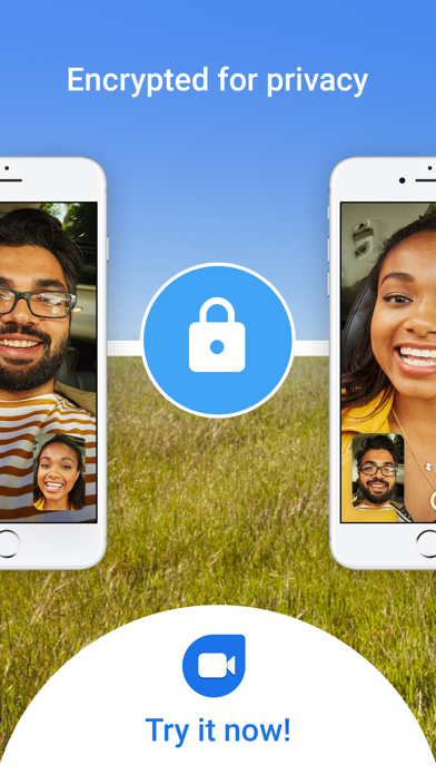 Screenshot for Google Duo in South Africa App Store