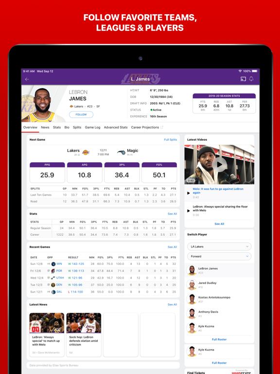 ESPN: Live Sports & Scores-ipad-5