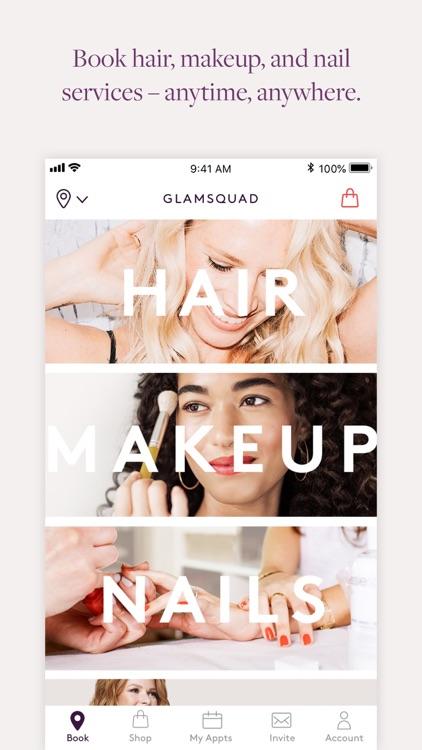 Glamsquad: On-Demand Salon App