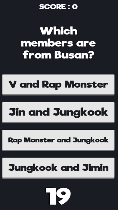 Trivia for BTS