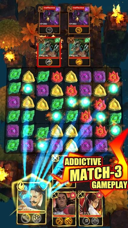 Heroes of Elements Match 3 RPG screenshot-0