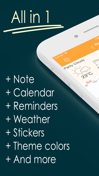 Awesome Calendar review screenshots