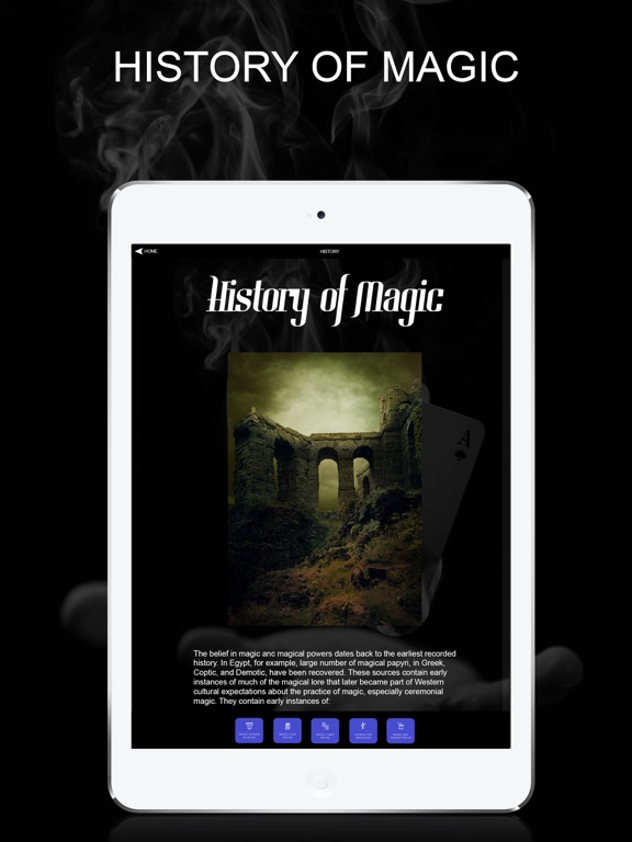 Easy Magic Tricks Secrets App screenshot