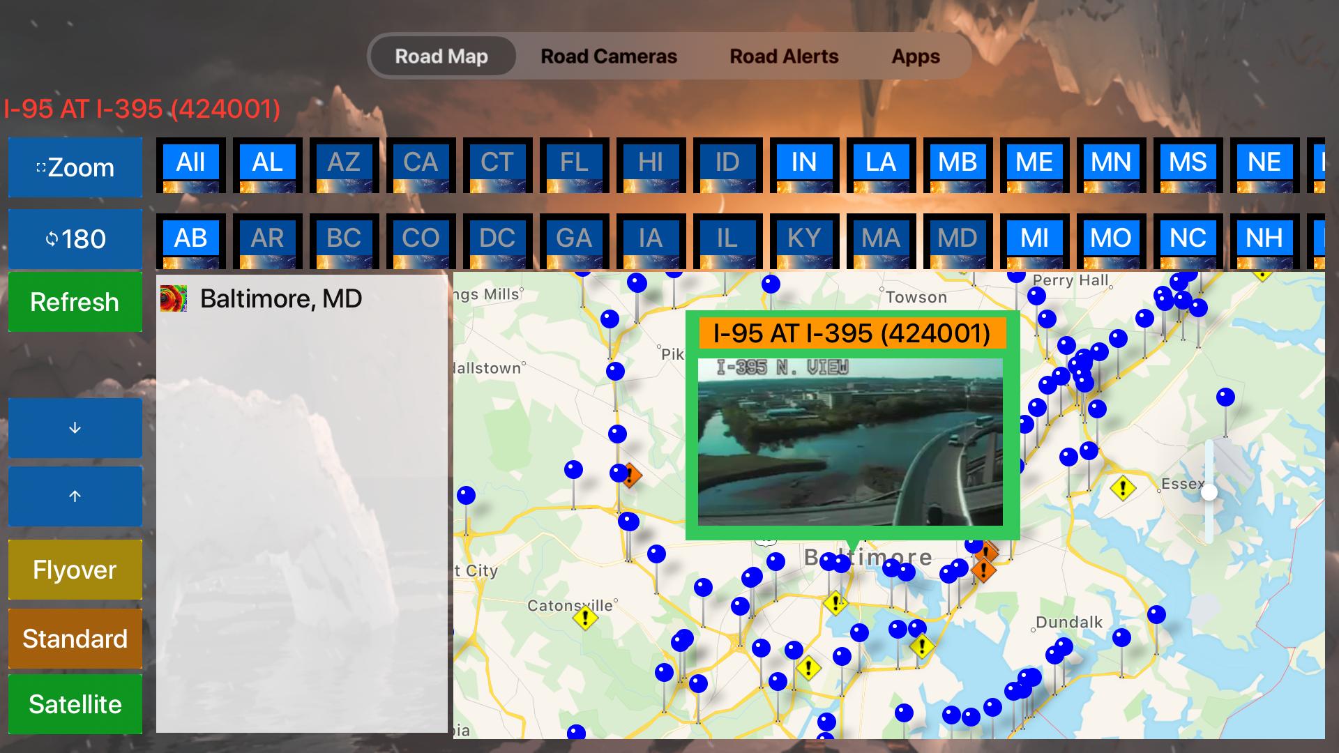 Road Conditions Lite screenshot 17