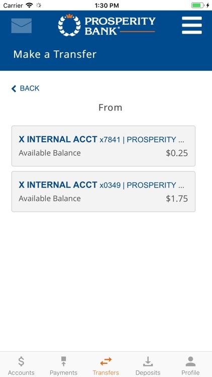 Prosperity Mobile Banking screenshot-3