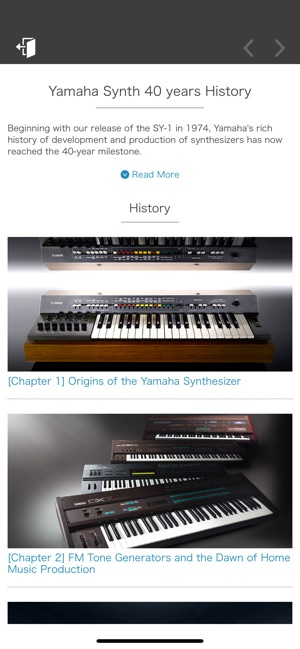 Yamaha Synth Book Screenshot