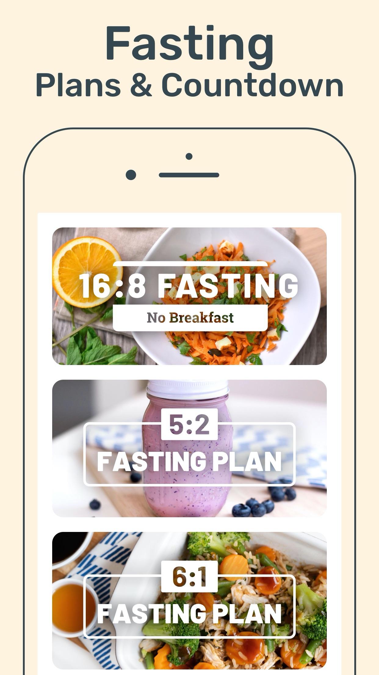 YAZIO Food & Fasting Tracker Screenshot