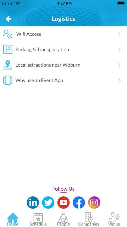 MyConf   Event App screenshot-3