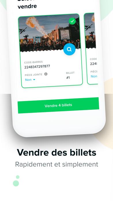 Screenshot #2 pour TicketSwap - Billets en ligne