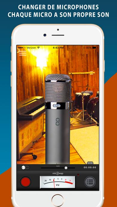 Screenshot #1 pour MicSwap: Émulateur de Mic