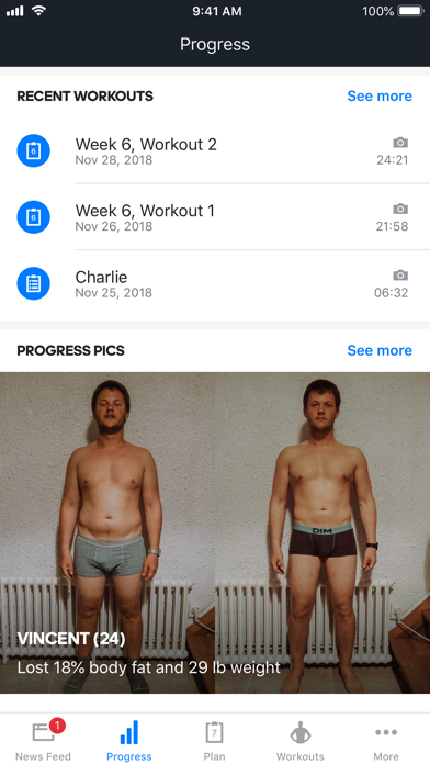 Runtastic Results Home Workout