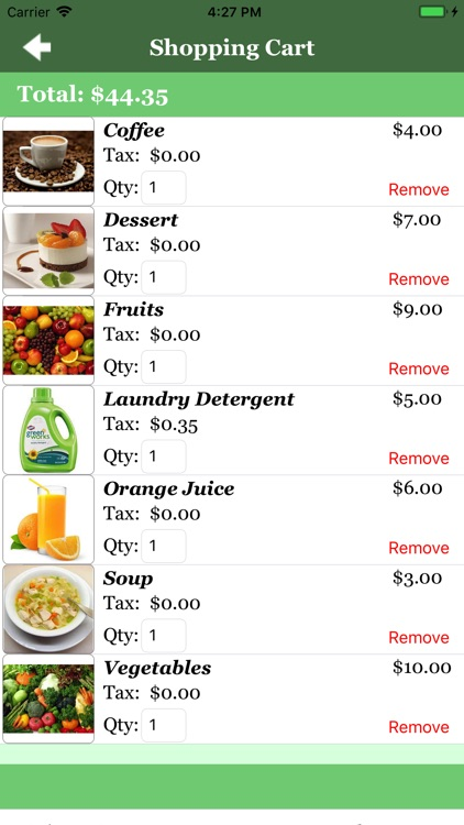 Shopping List II screenshot-3