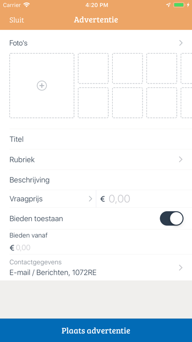 Download Marktplaats - buy and sell for Pc