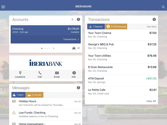 IBERIABANK on the App Store