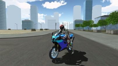 Motorbike Driving Simulator 3Dのおすすめ画像1