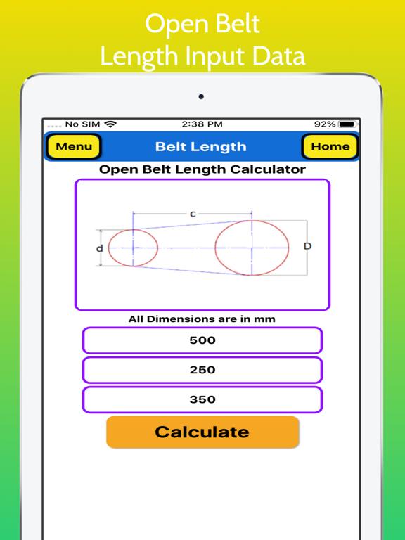 Belt Length Calculator Pro screenshot 12