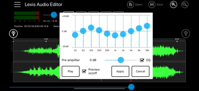 Lexis Audio Editor on the App Store