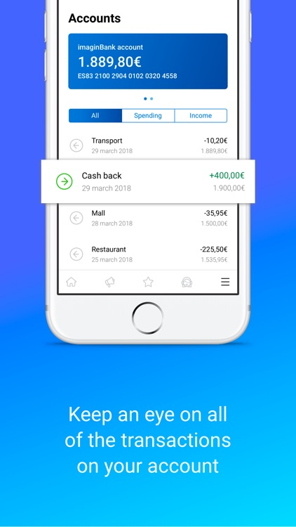 imaginBank - Your mobile bank screenshot-5