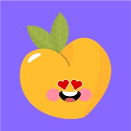 pear fruits emoji sticker