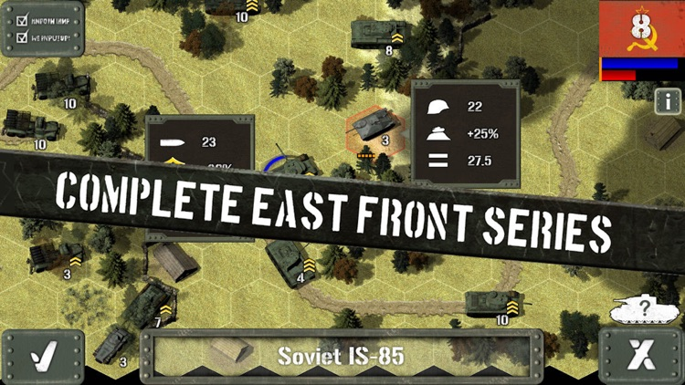 Tank Battle: East Front screenshot-3
