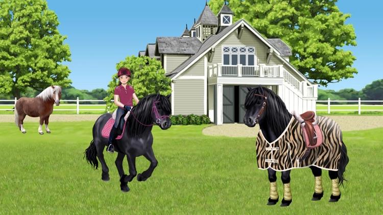 Pony und Reiter Anziehspass screenshot-8