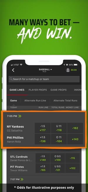 DraftKings Sportsbook on the App Store